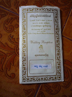 Cambodian Wedding Invitations Cambodian Wedding With White And Gold