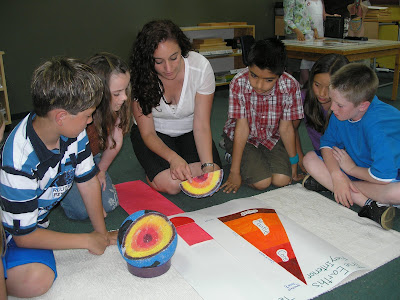 NAMC montessori teacher and class why choose montessori constructivism traditional
