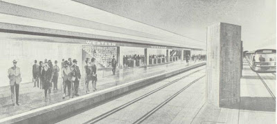 Proposed Wilshire Western subway station