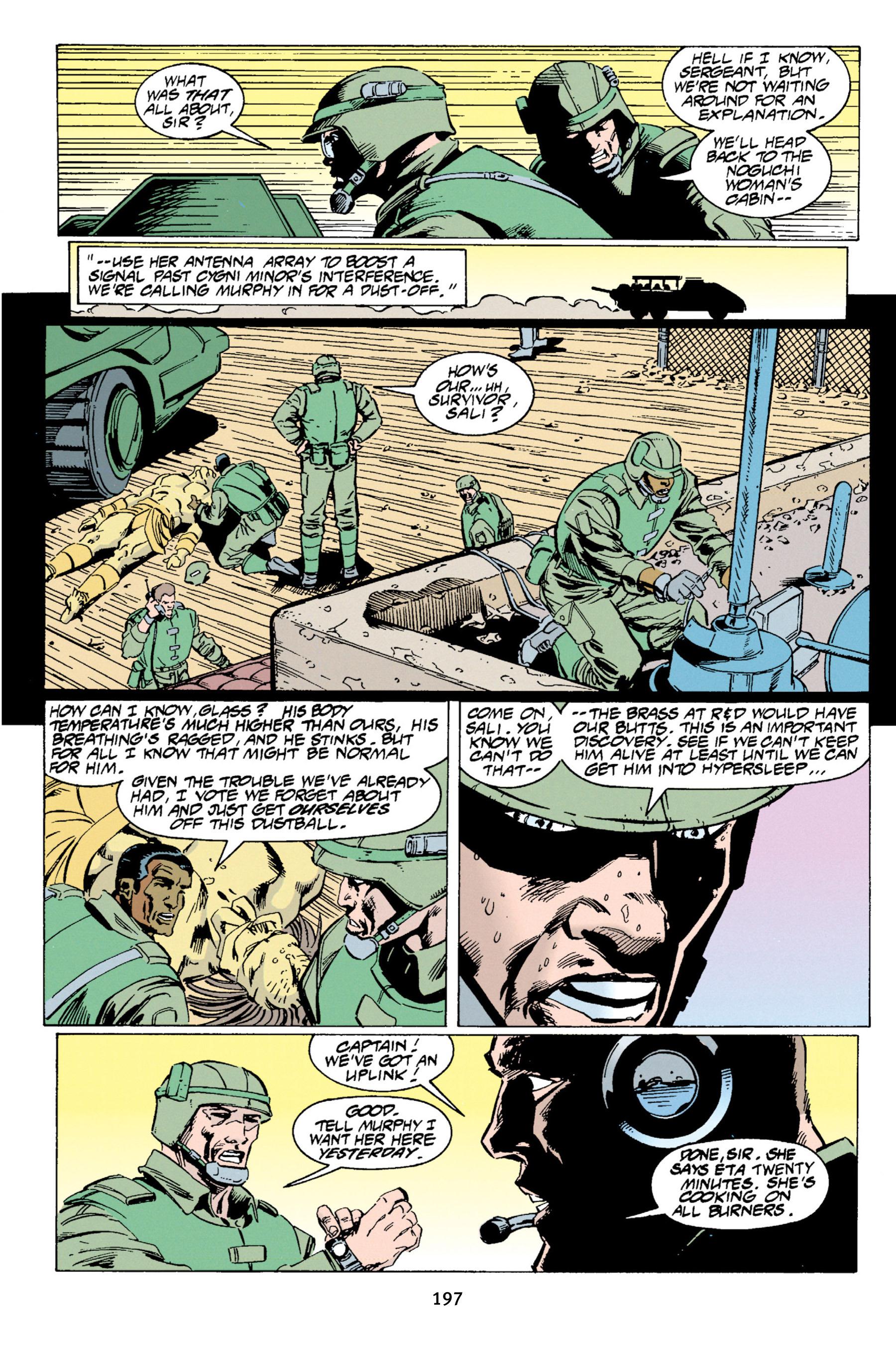Read online Aliens vs. Predator Omnibus comic -  Issue # _TPB 1 Part 2 - 93