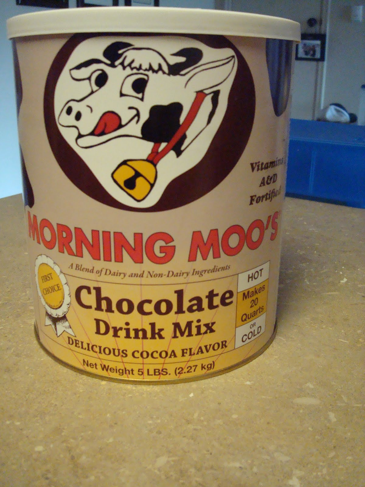 My Family Prepared Morning Moo S Chocolate Drink Mix