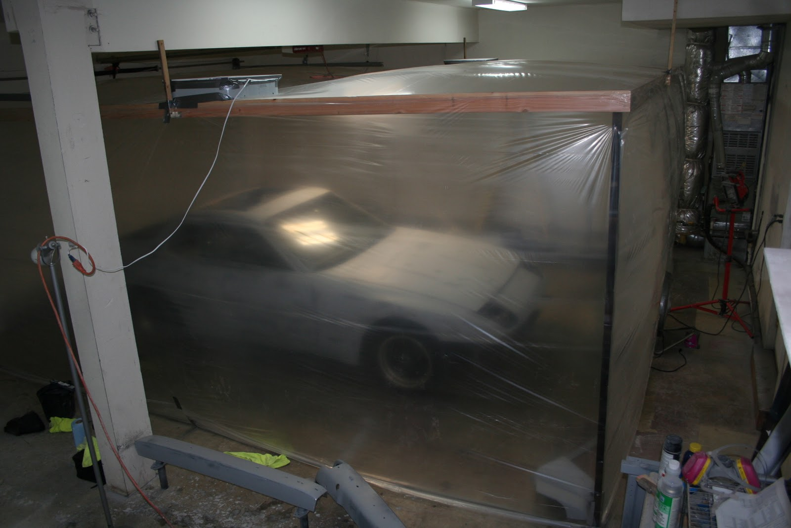 Repainting My 1983 Porsche 944 Building A Diy Spray Booth In The Garage