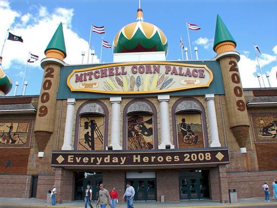 Corn Palace Spluch Interesting Fun Stuff From Around