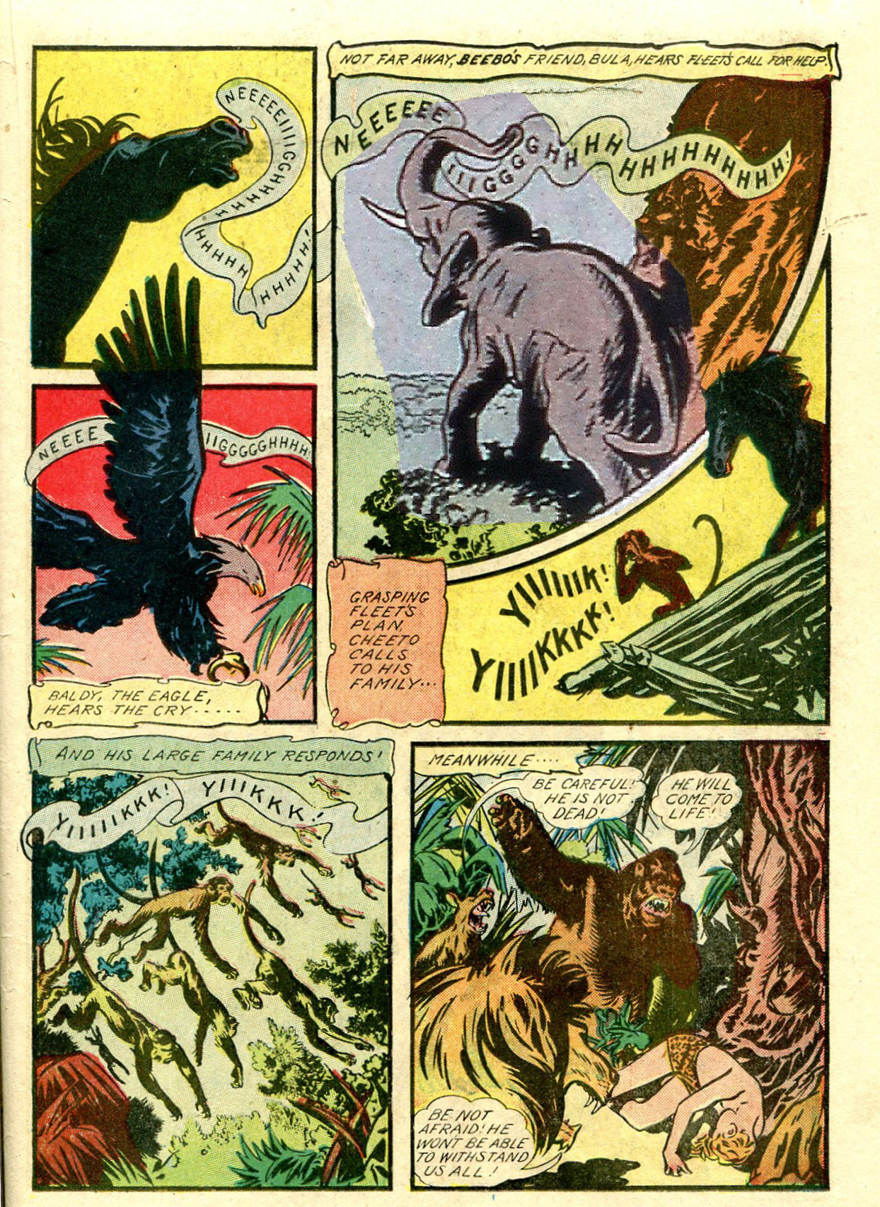 Read online Shadow Comics comic -  Issue #33 - 41