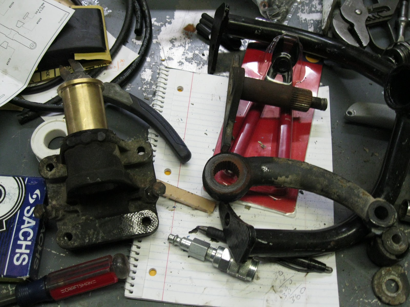 The Bug Boys: Rebuilding a supers front end