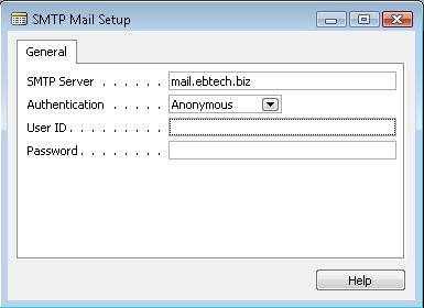 How to Send SMTP mail from Navision Application (1/2)