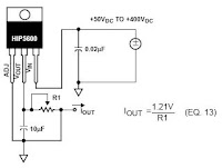 Adjustable Current Source Circuit on current limiting resistor
