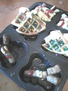 Easy Christmas Tree Waffle Ideas for Kids Holiday Breakfast.