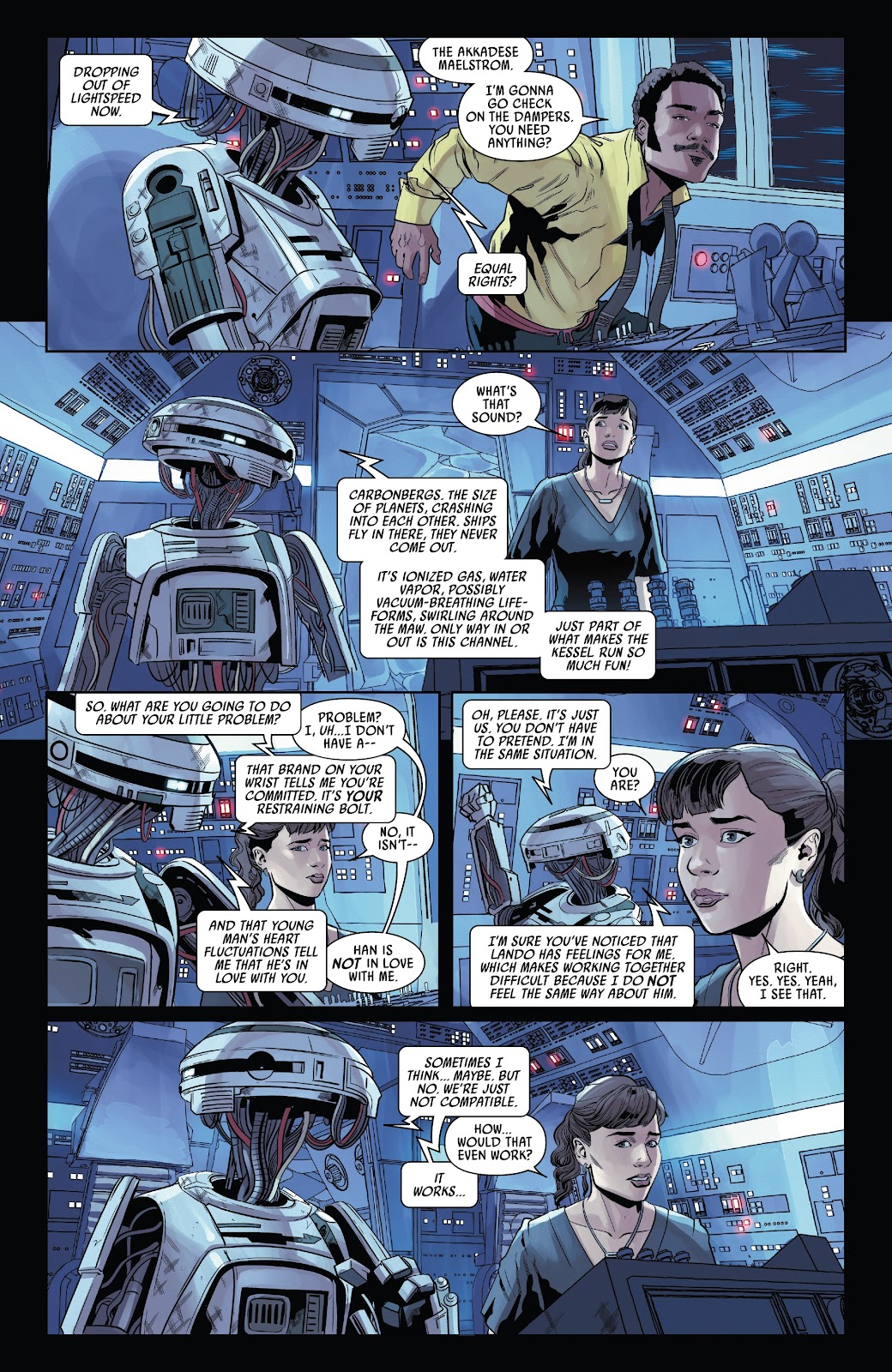 Read online Solo: A Star Wars Story Adaptation comic -  Issue #4 - 8
