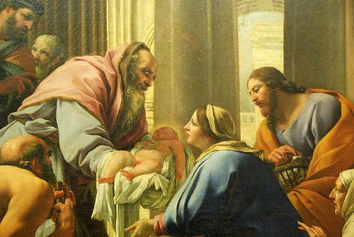 Resultado de imagem para APRESENTAÇÃO DE JESUS NO TEMPLO