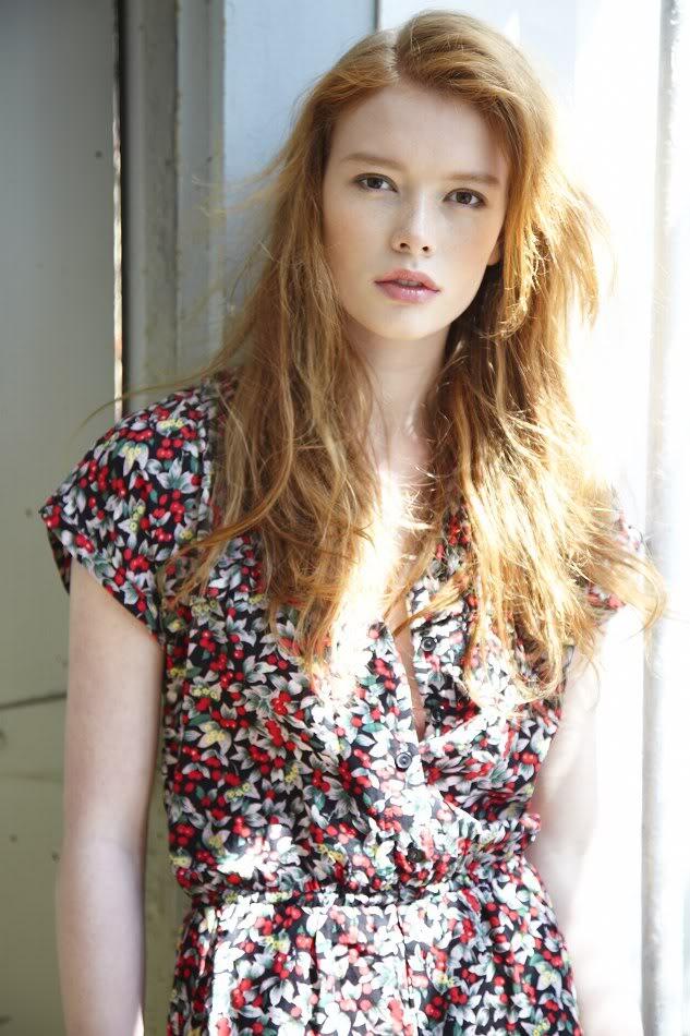 Redhead Hair Models