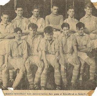 Schoolboys football soccer team