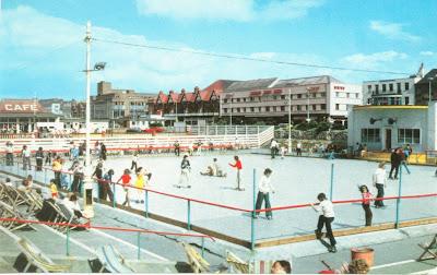 Promenade ropller skating