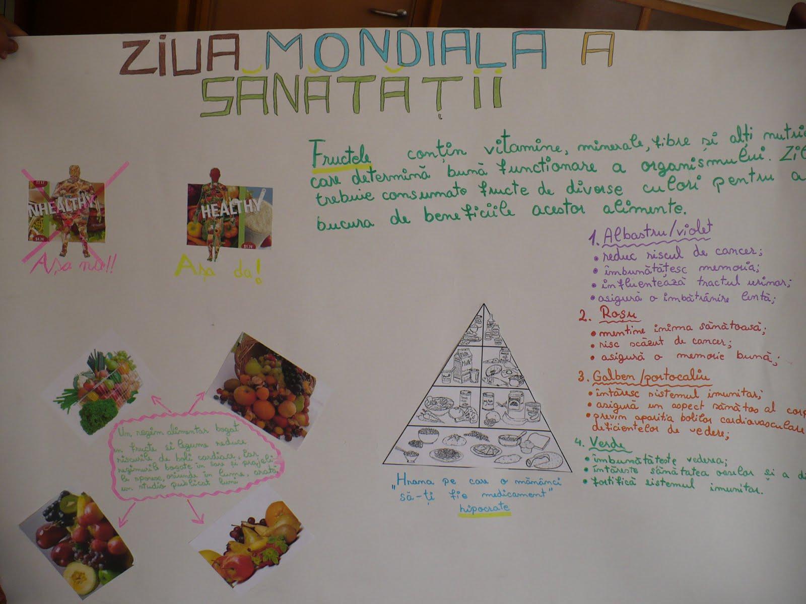 Ziua Mondială a Sănătății se sărbătorește într-un moment ...  |Ziua Mondiala A Sanatatii