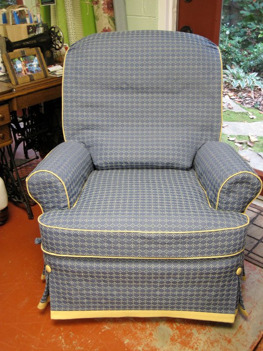 The Slipcover Network Forum: Slipcover For A Recliner By