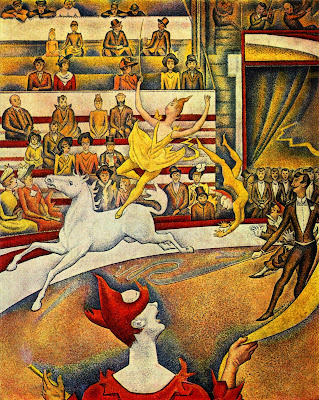 georges seurat the circus-#17