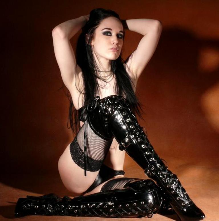 Sexy Gothic Teen Naked 100