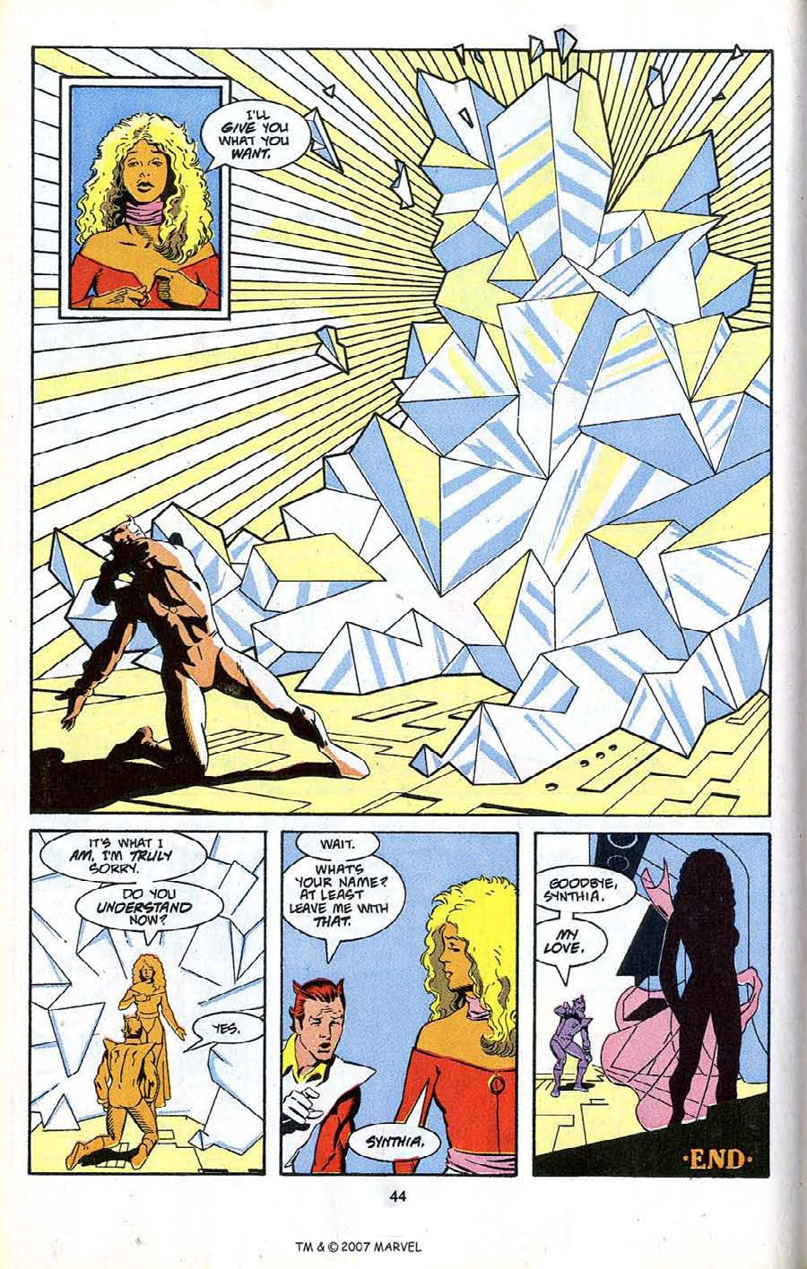 Read online Silver Surfer (1987) comic -  Issue # _Annual 4 - 46