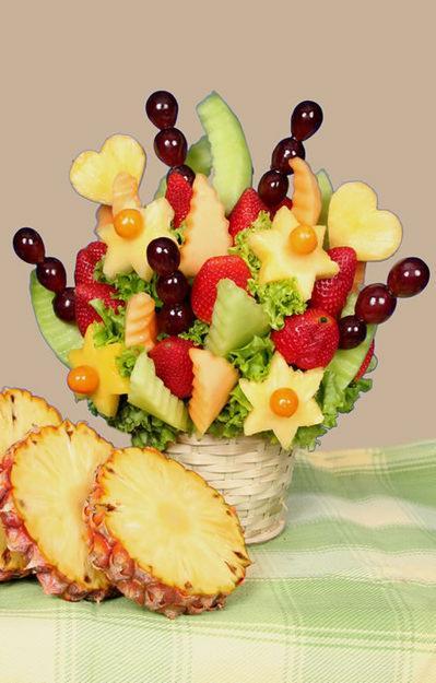 Ideas Para Disenar Centros De Mesa Arreglos Con Frutas - Centros-de-mesa-de-frutas
