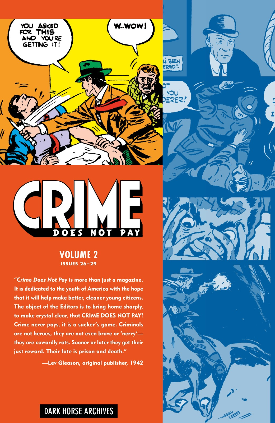 Read online Crime Does Not Pay Archives comic -  Issue # TPB 2 (Part 1) - 2