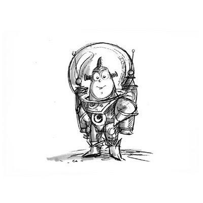 Disney, etc.: Fantastic Pixar Sketches