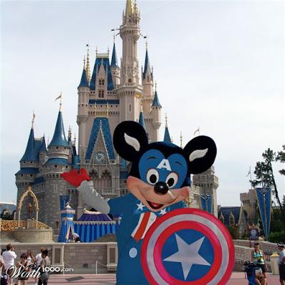 Disney, etc.: Disney/Marvel Mash-ups