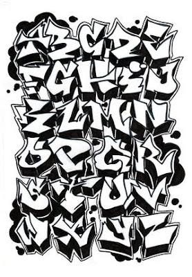 Graffiti alphabet style a z graffiti alphabet alphabet graffiti graffiti letters altavistaventures Image collections