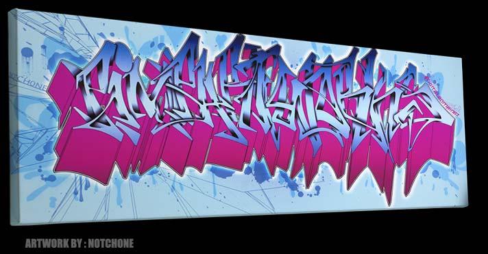 Wild Style Graffiti Alphabet Street Art