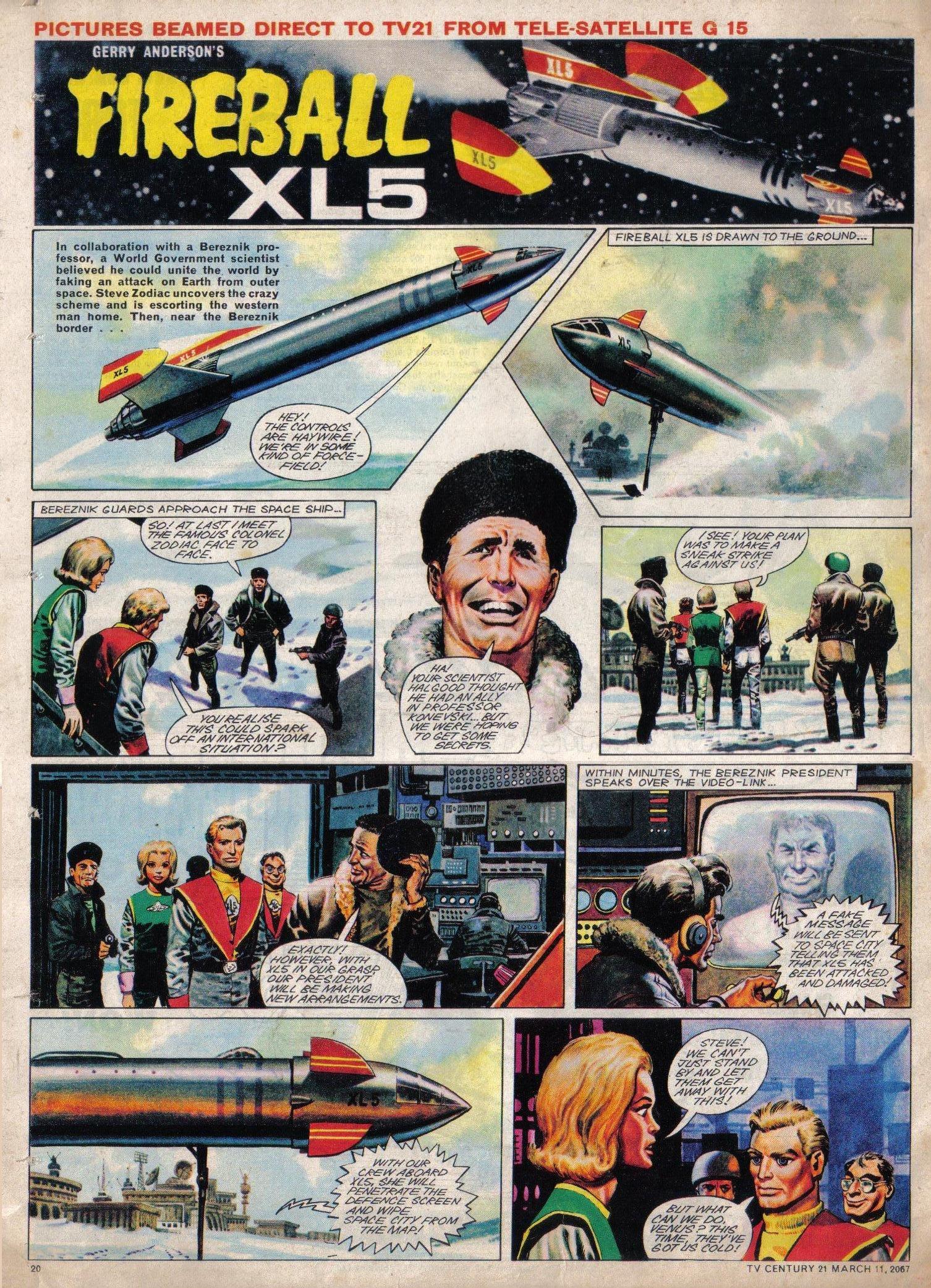 Read online TV Century 21 (TV 21) comic -  Issue #112 - 19