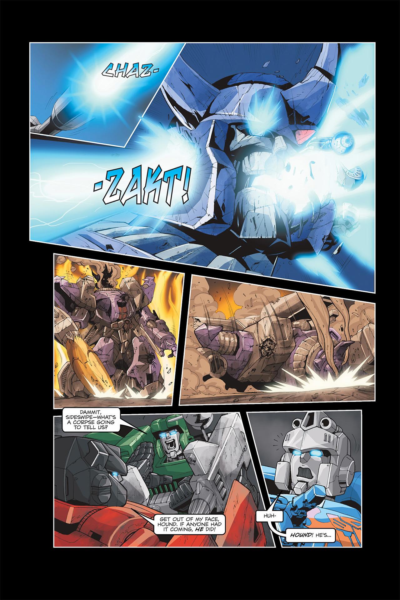 Read online Transformers Spotlight: Galvatron comic -  Issue # Full - 22