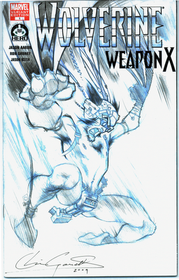 Gossett does Wolverine covers for Hero Initiative!