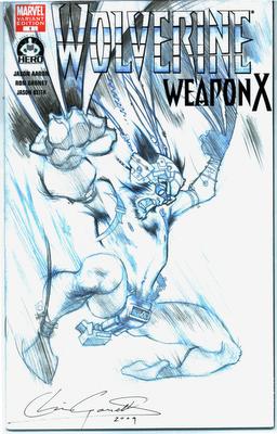 Gossett does Wolverine covers for Hero Initiative!