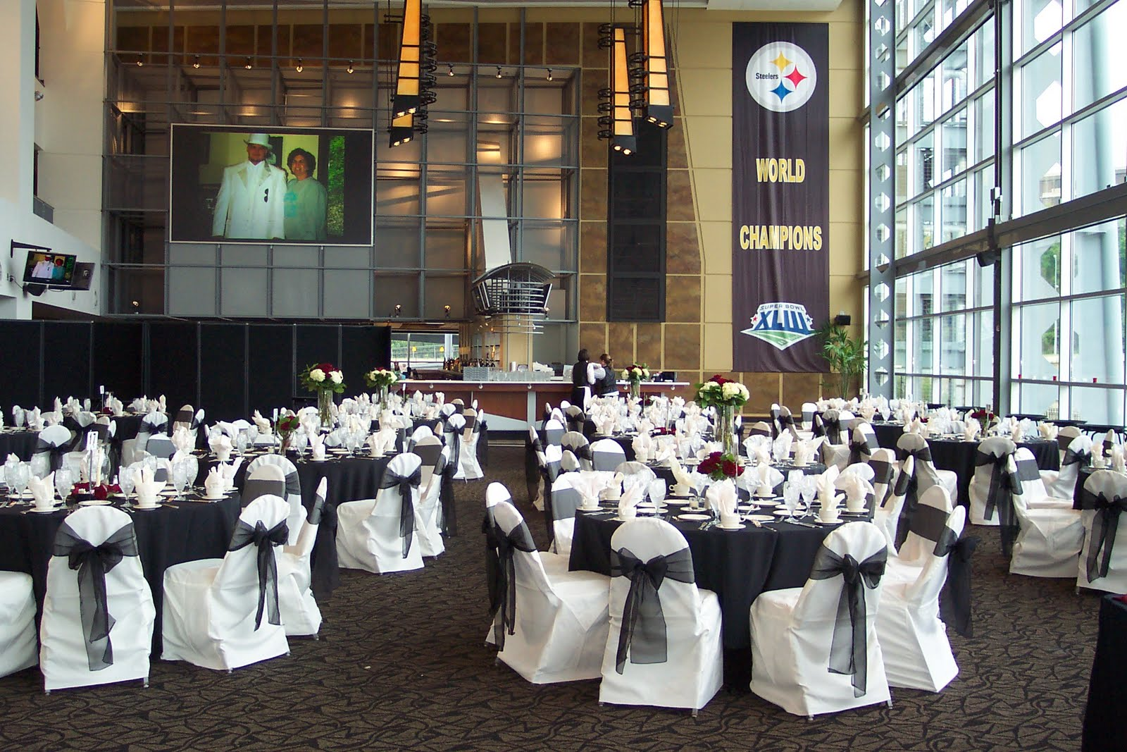 Immaculate Wedding Reception At Heinz Field