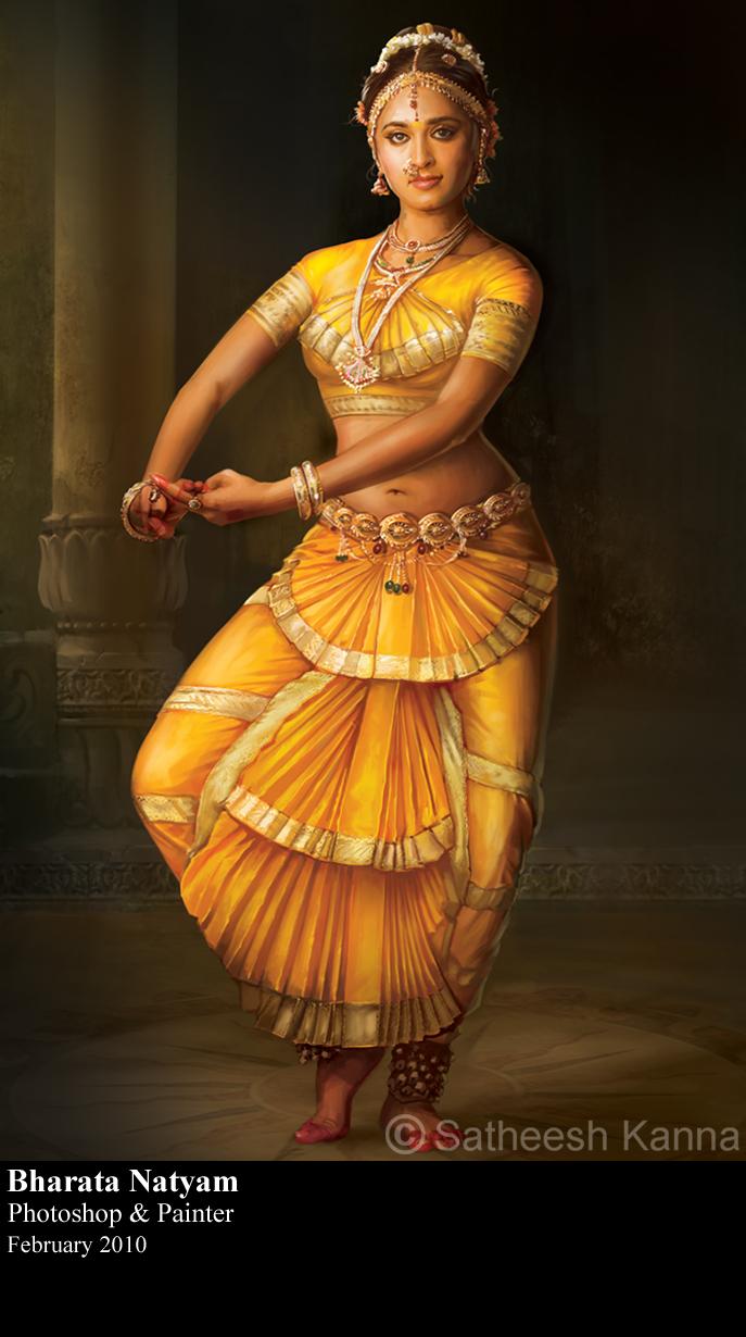 bharatanatyam dance painting - photo #3