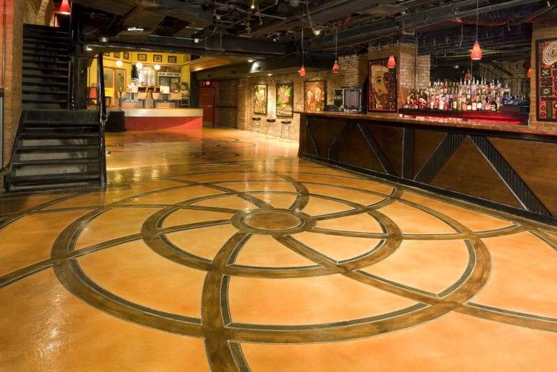 Epo Floors Nashville Dinner Theater With Concrete