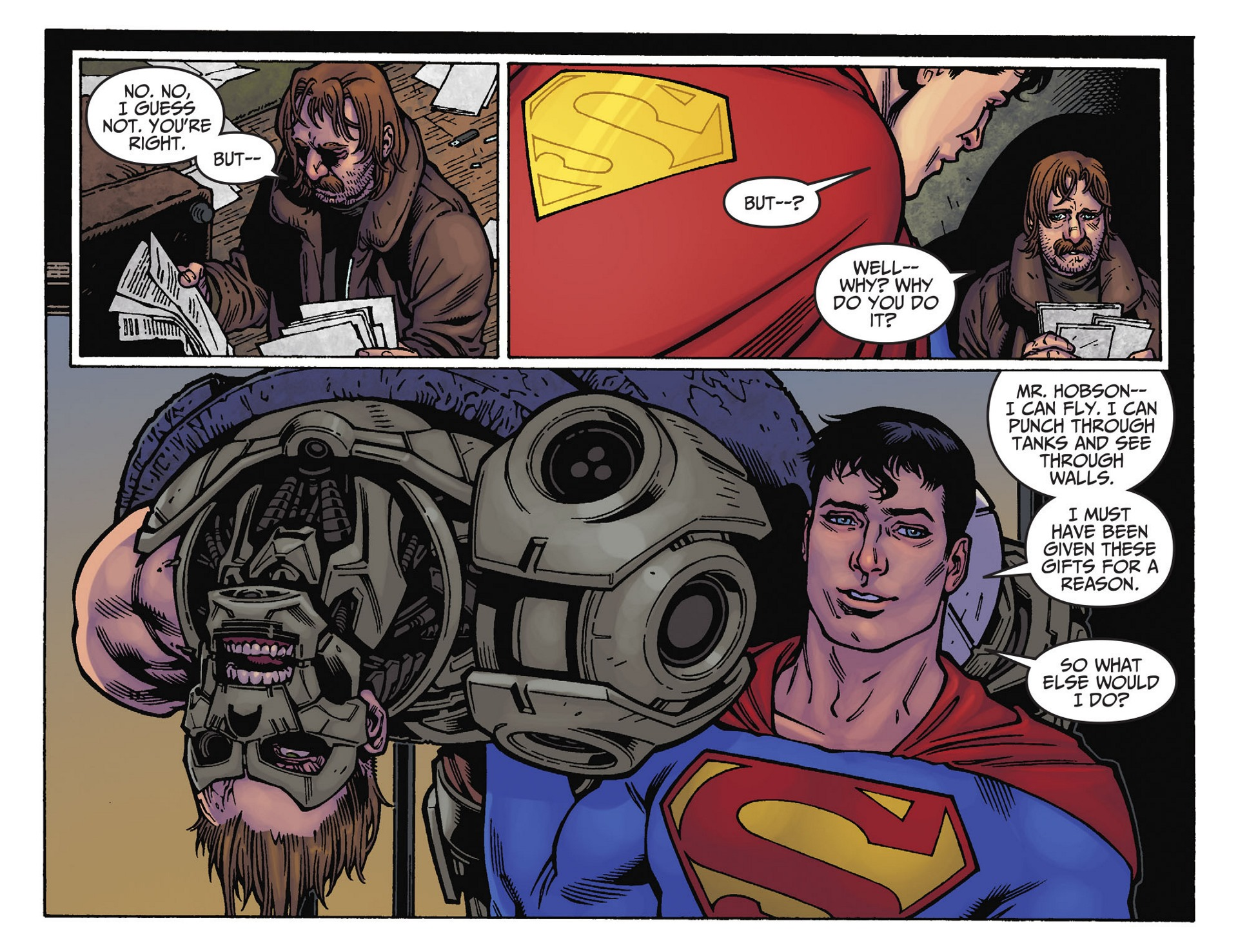 Read online Adventures of Superman [I] comic -  Issue #39 - 20