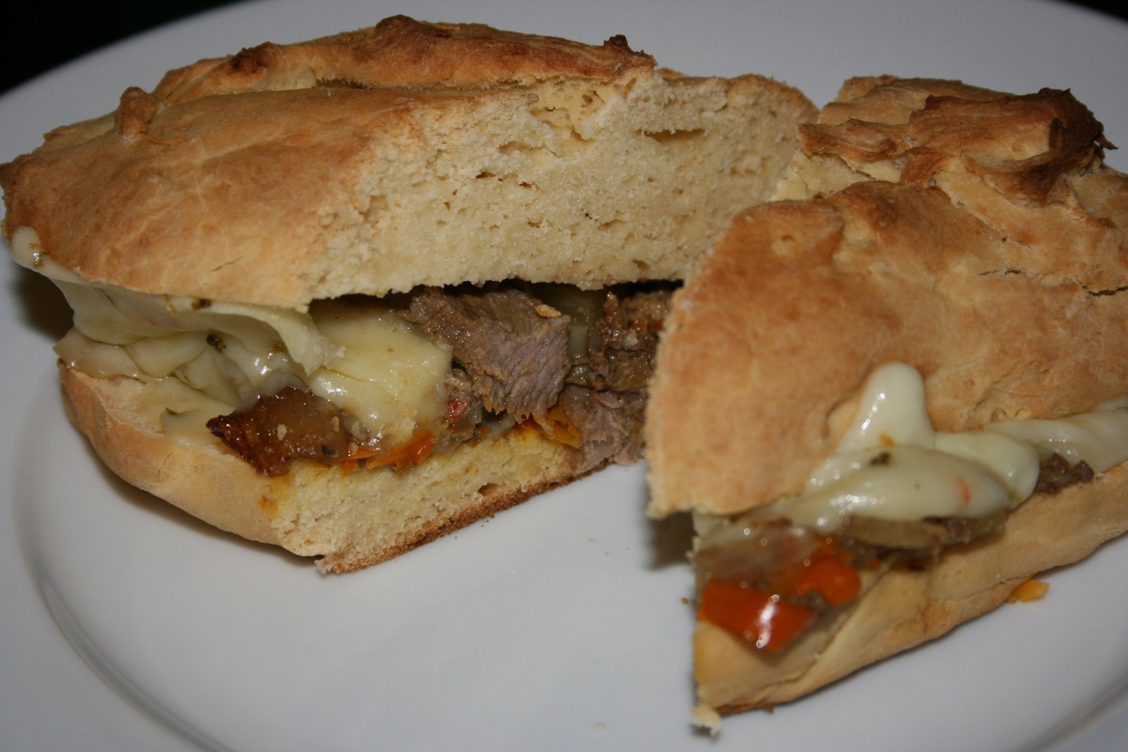 CrockPot Philly Cheesesteak Sandwiches - A Year of Slow ...