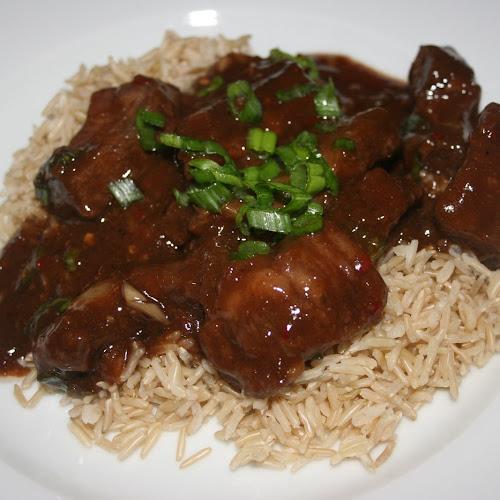 Mongolian Beef CrockPot Recipe