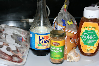 Hawaiian Ribs ingredients -- made in the crockpot slow cooker