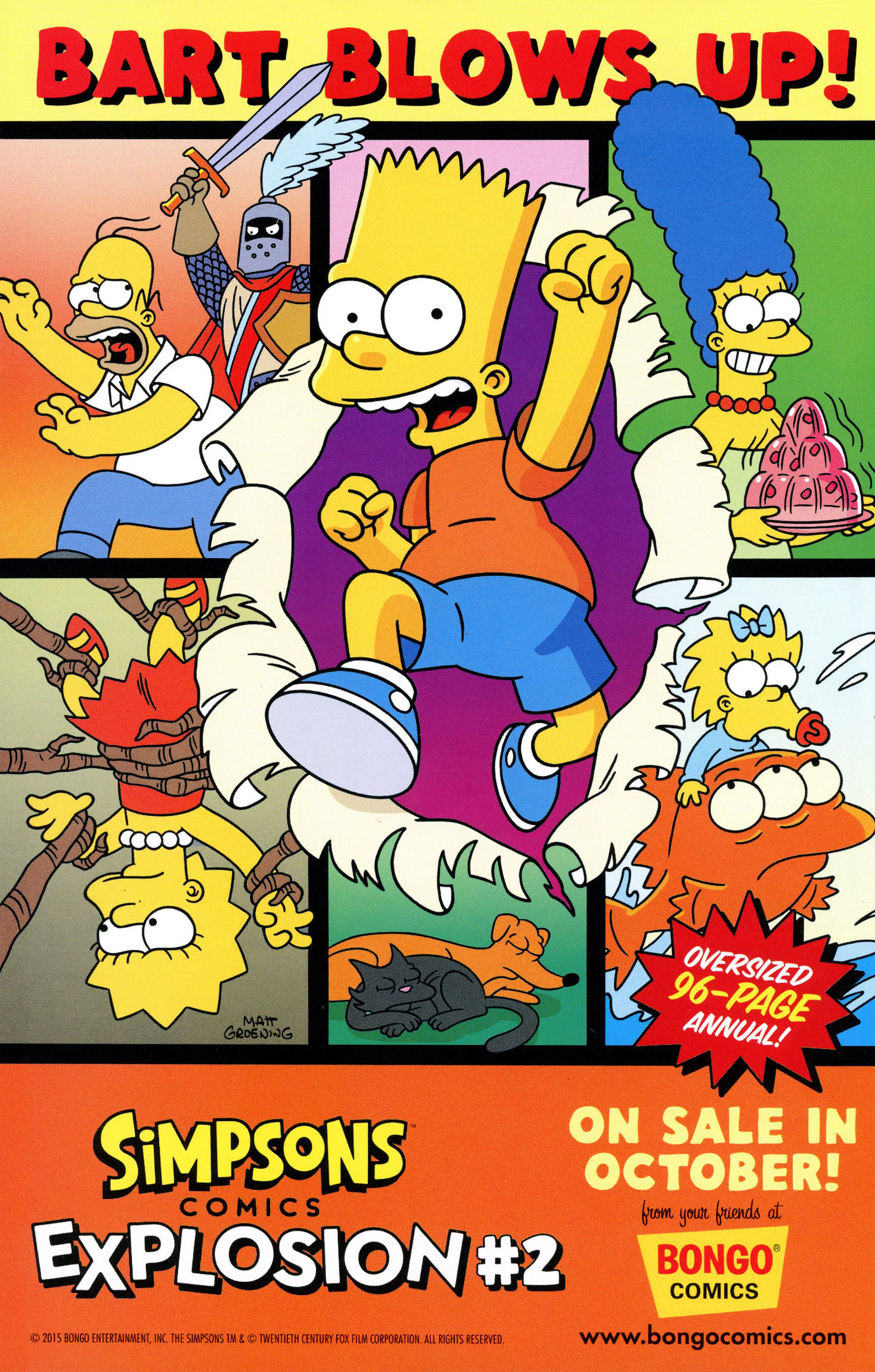 Read online Treehouse of Horror comic -  Issue #21 - 32