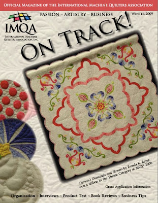 Read Angela's article in On Track magazine! - QuiltedJoy.com