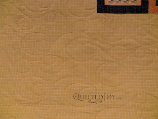 Duck, Duck, Goose! Quilt with Double Bubble Pantograph - QuiltedJoy.com