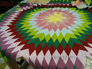 Breathing some new life into Bonnie's Lone Star quilt