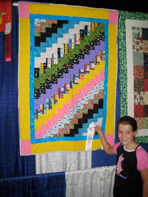 Emily wins third place at KY State Fair, Junior Division