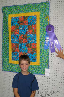 Luke wins First Place AND Best in Show at KY State Fair, Junior Division