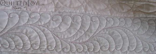 Irish Chain Quilt, quilted by Angela Huffman