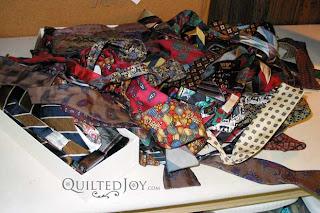 Memorial tie quilt