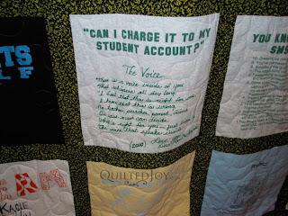 Kitty's T-Shirt Quilt - QuiltedJoy.com