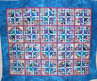 Linda's Beans and Corn Quilt - QuiltedJoy.com