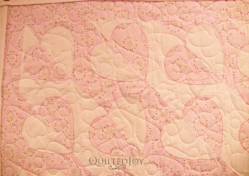 Karin's Madeira Heart Baby Quilt - : madeira quilt - Adamdwight.com